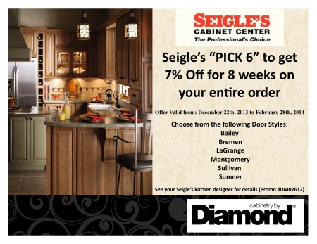 Seigles-Diamond-Pick 6-Promotion 12-22-13 to 2-28-14