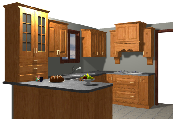 Kitchen Design Virtual 3d virtual kitchens offered free to seigle's customers | seigles