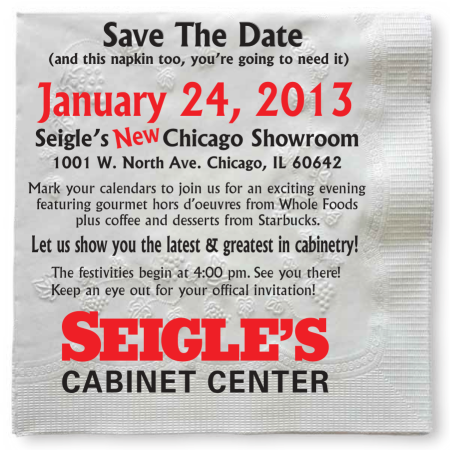 Save-the-Date New Chicago Showroom