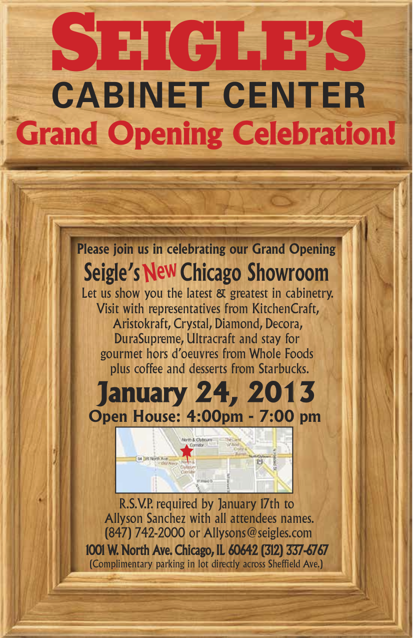 seigle's showrooms | Seigle Cabinet Center's Blog